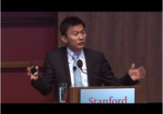 Yi Cui at Stanford university Global Energy Forum